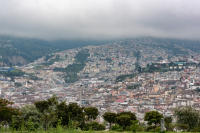 View of Quito from Parque Itchimbia